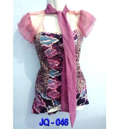 Baju Atasan Batik Modern   Batik JavaQueen – Baju Batik Wanita ...